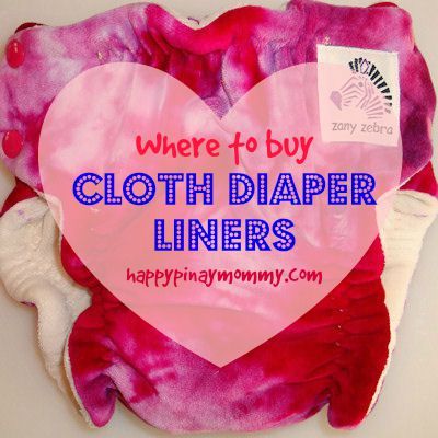 buy cloth diaper liners in the Philippines
