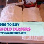 Where to buy Prefold Cloth Diapers in the Philippines