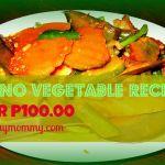 Filipino vegetable recipes under P100.00