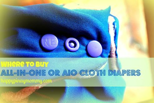 Where to buy All-in-One or AIO Cloth Diapers