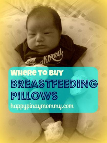 Where to buy nursing or Breastfeeding Pillows in the Philippines
