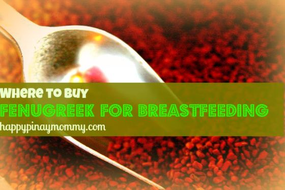 buy Fenugreek for breastfeeding in the Philippines