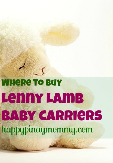Buy Lenny Lamb Baby Carriers in The Philippines