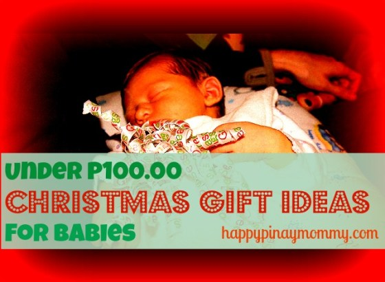Cute Christmas Gifts under P100.00 for Babies in the Philippines. (Photo Credits)