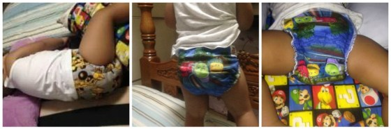 Little Bubba's Bum Hybrid Fitted Cloth Diapers