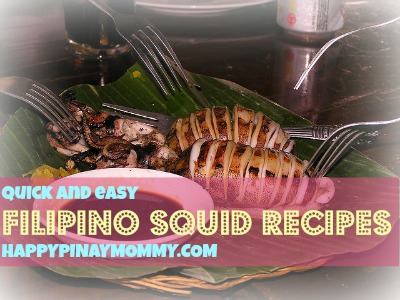 Here are some quick and easy Filipino squid recipes. (Photo credits) https://www.flickr.com/photos/princessmia517/
