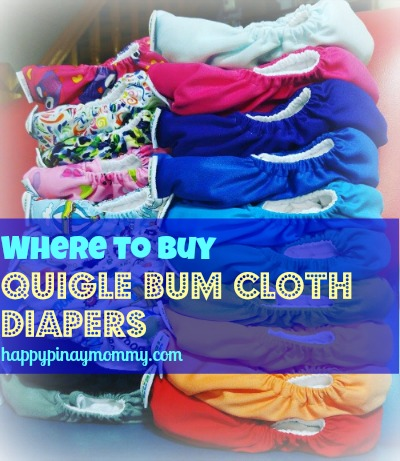 buy quigle bum cloth diapers in the Philippines