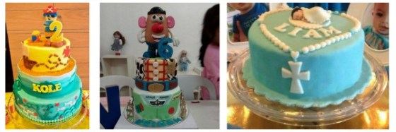 Super creative! Some of the Celebration Cakes of Sweet Indulgence by Rika.