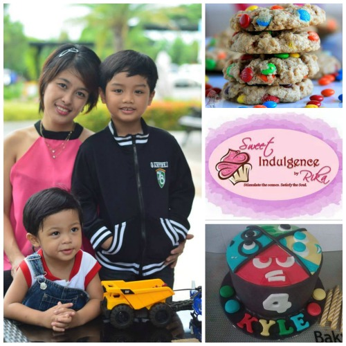 Mommy Rika of Sweet Indulgence by Rika and Mommy Bakes PH is Happypinaymommy.com's 16th WAHM of the Week