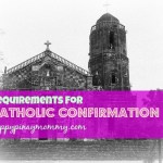 Requirements for Catholic Confirmation in the Philippines. (Photo Credits)