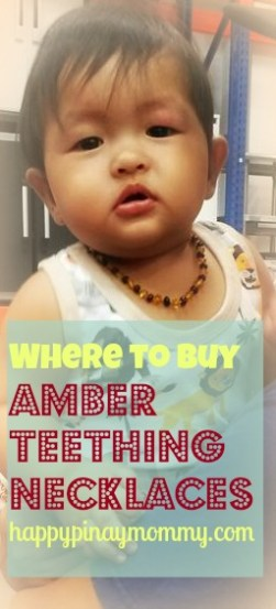 buy amber teething necklace in the Philippines