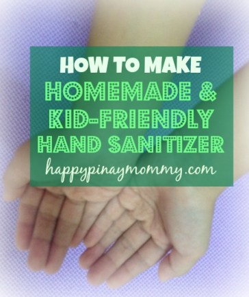 How to Make Homemade Kid-Friendly Hand Sanitizer