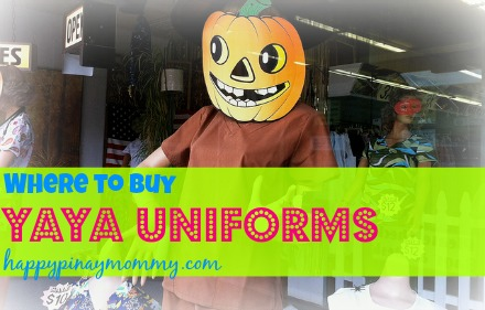 where to buy nanny yaya uniforms