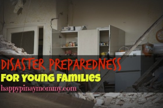 disaster preparedness for young families