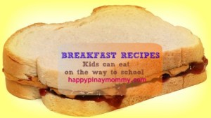 Breakfast Food Recipes Children Can Eat in the Car