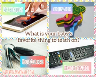 What is your baby's favorite thing to teeth on?