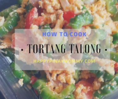 How to cook tortang talong
