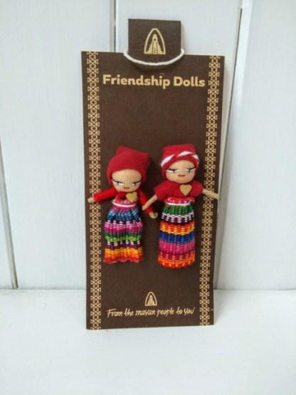 Fairtrade friendship dolls