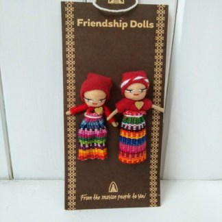 Fairtrade friendship dolls