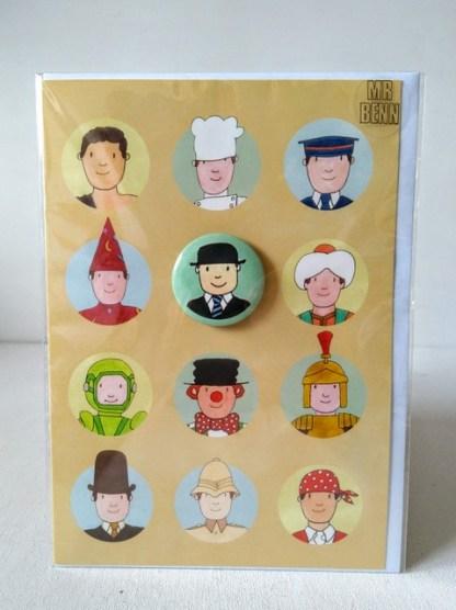 Mr Benn Card