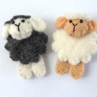 Sheep-brooch