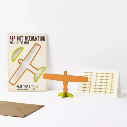 angel of the north pop out card