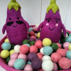 mr and mrs aubergine