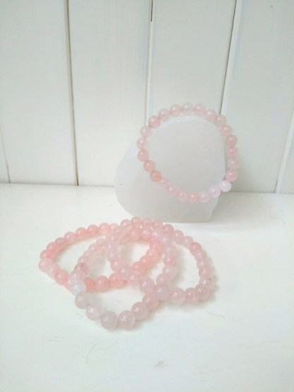rose quartz power bracelet