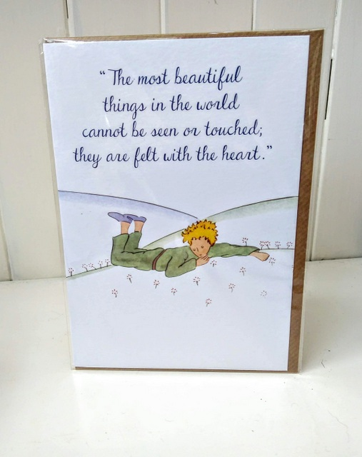 little prince heart quote