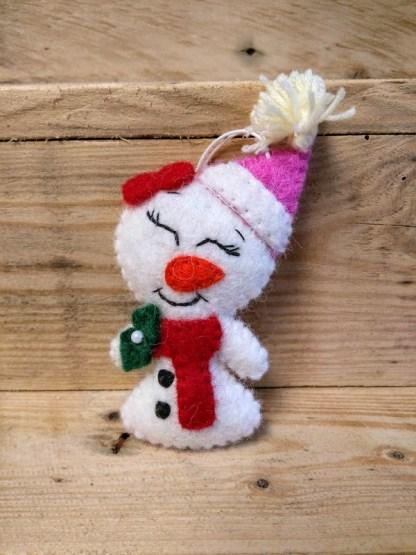 snow woman dec