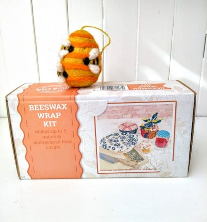 beeswax wrap kit front