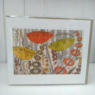 spey birches card