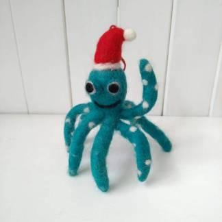 xmas octopus