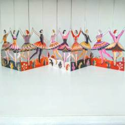 die cut dancers
