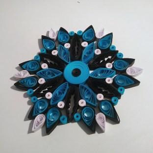 La Topazia Fleur Mandala en Quilling