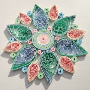 Fleur Quilling pastel