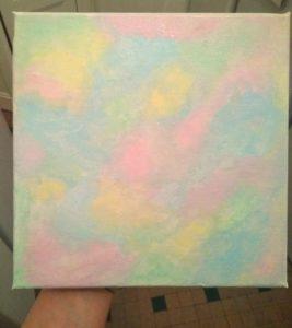 Peinture du tableau