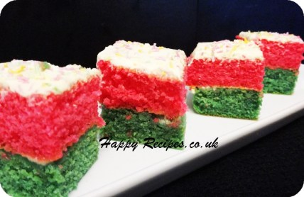 Fairy cake-butter icing cake