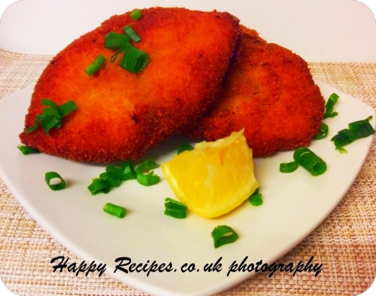 King fish fillets deep fried