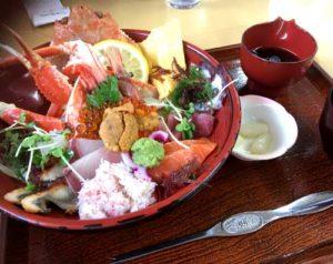 料理長おすすめ海鮮丼1800円