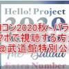【ハロプロ】ハロコン2020秋バラードをスマホで視聴する方法!見逃し配信や再放送もチェック