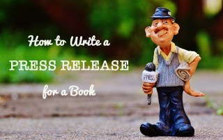 how to write a press release for a book