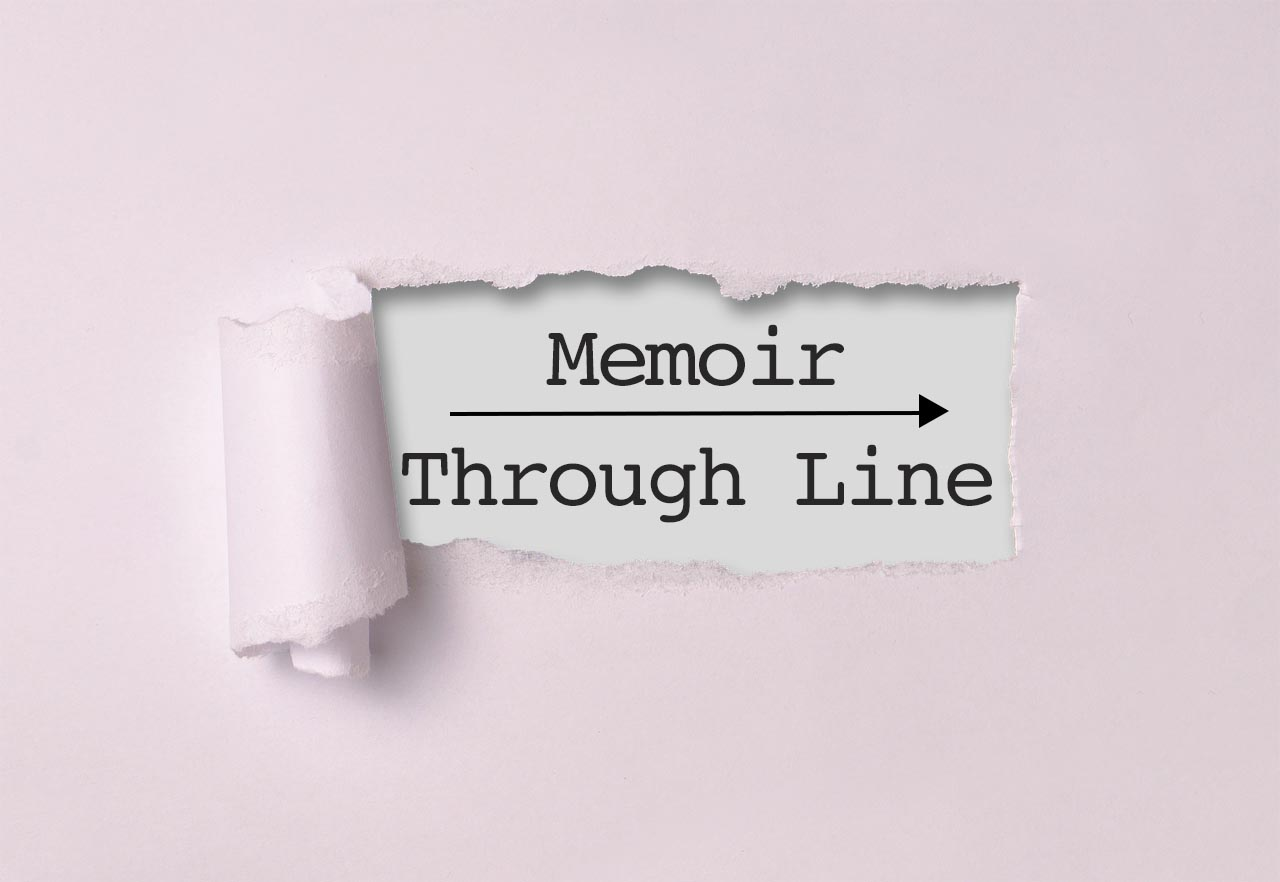 memoir through line