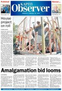 front page kapiti observer