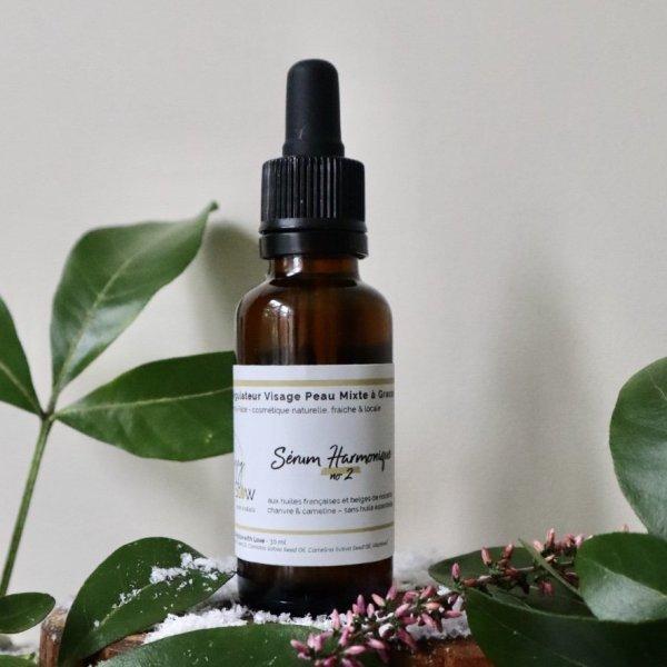 sérum régulateur peau mixte à grasse sans huile essentielle