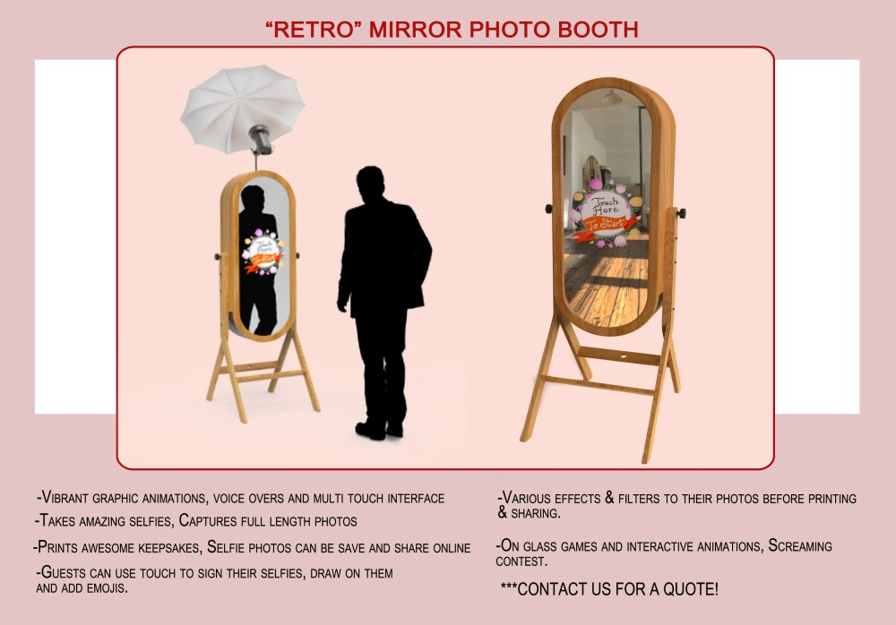 Retro Mirror Booth