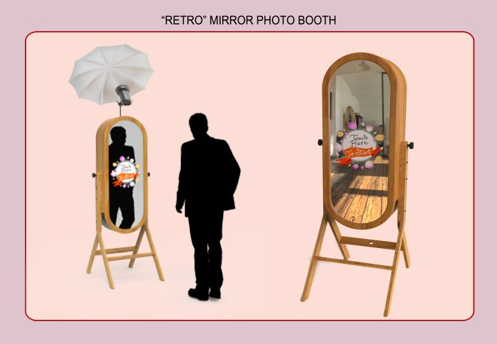Retro Mirror Booth_Happy Snap