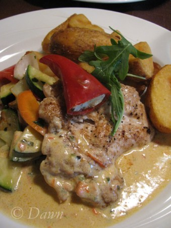 Dinner at Piatta