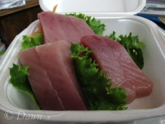 Tuna Sashimi from Sushi & Co