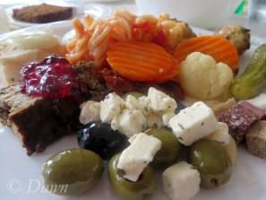 Buffet dinner, Lake Mývatn